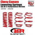 2016 -2020 Chevy Camaro Lowering Springs, Set Of 4, Performance Version by BMR