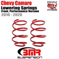 2016 -2020 Chevy Camaro Lowering Springs, Front, Performance Version by BMR