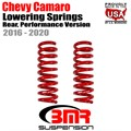 2016 -2020 Chevy Camaro Lowering Springs, Rear, Performance Version by BMR