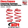 2016 -2020 Chevy Camaro Lowering Springs, Front, Minimum Drop, Performance Version by BMR
