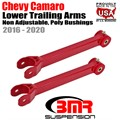 2016 -2020 Chevy Camaro Lower Trailing Arms, Non-adjustable, Poly Bushings by BMR