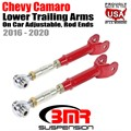 2016 -2020 Chevy Camaro Lower Trailing Arms, On Car Adjustable, Rod Ends by BMR