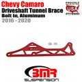 2016 -2020 Chevy Camaro Driveshaft Tunnel Brace, Bolt In, Aluminum by BMR
