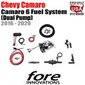 2016-2020 Chevy Camaro 6 Fuel System (dual pump) by FORE