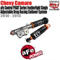 Control PFADT Series Featherlight Single Adjustable Drag Racing Coilover System by aFe
