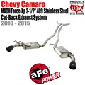 "MACH Force-Xp 2-1/2"" 409 Stainless Steel Cat-Back Exhaust System by aFe"