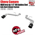 "MACH Force-Xp 2-1/2"" 409 Stainless Steel Axle-Back Exhaust System by aFe"