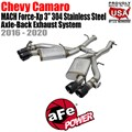"MACH Force-Xp 3"" 304 Stainless Steel Axle-Back Exhaust System by aFe"