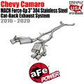 "MACH Force-Xp 3"" 304 Stainless Steel Cat-Back Exhaust System by aFe"