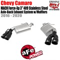 "MACH Force-Xp 3"" 304 Stainless Steel Axle-Back Exhaust System w/Mufflers by aFe"
