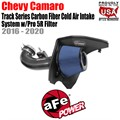 Track Series Carbon Fiber Cold Air Intake System w/Pro 5R Filter by aFe