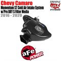 Momentum ST Cold Air Intake System w/Pro DRY S Filter Media by aFe