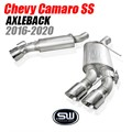 Chevy Camaro SS Axleback for Stock System (Cutting Required) by Stainless Works